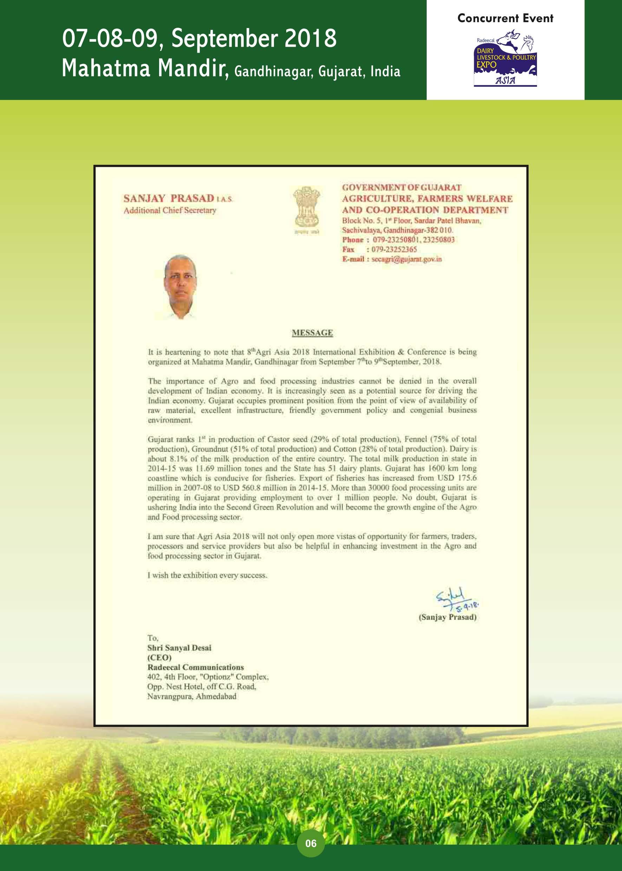 Sanjay-Prasad-Message