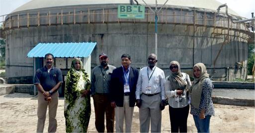 Bio-Gas Plant Visit