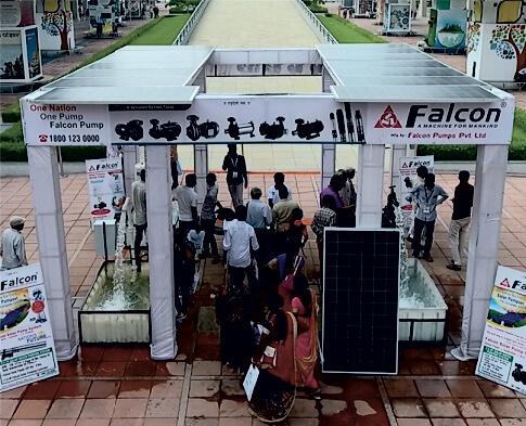 Falcon Solar Pumps
